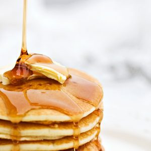Apple-Walnut Pancakes with Spelt