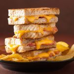Bacon, Apple and Cheddar Melt