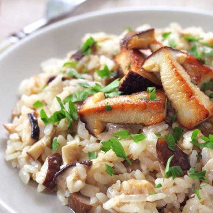 Chicken & Wild Mushroom Risotto