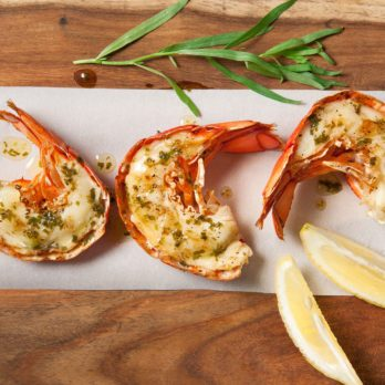 Grilled Lobster with Limoncello Butter