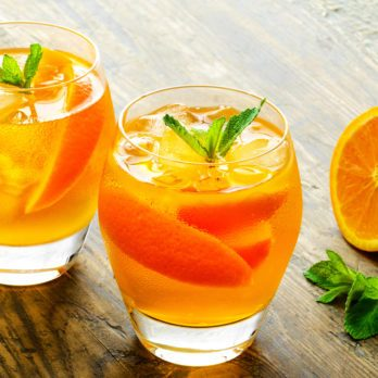 Vanilla-Mint Oranges