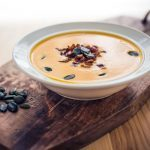 Spiced Pumpkin and Bacon Soup