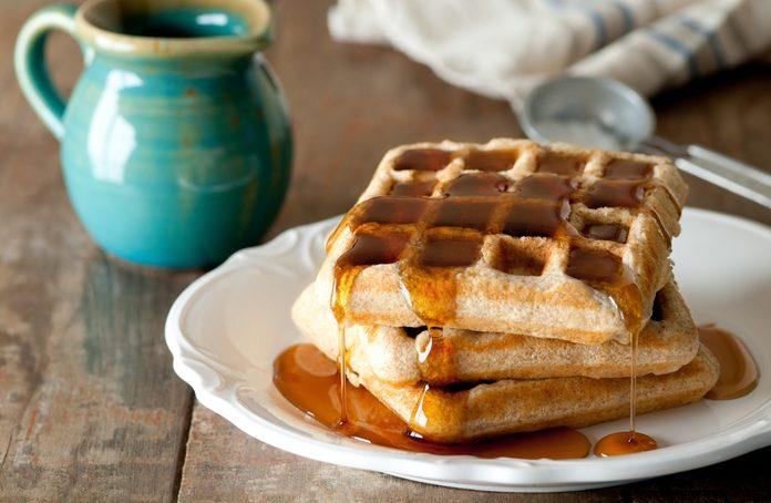 Squash waffles