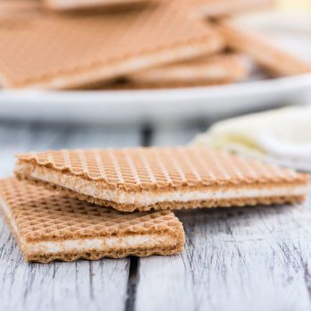 Cheesy Penny Wafers