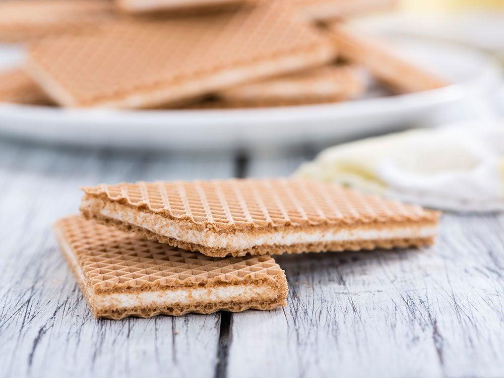 Cheesy wafers