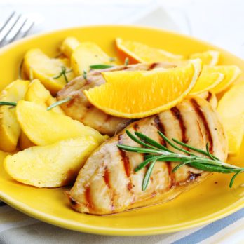 Chicken Breasts with Apples