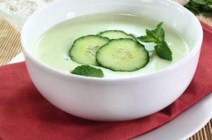 Cool Cucumber Soup