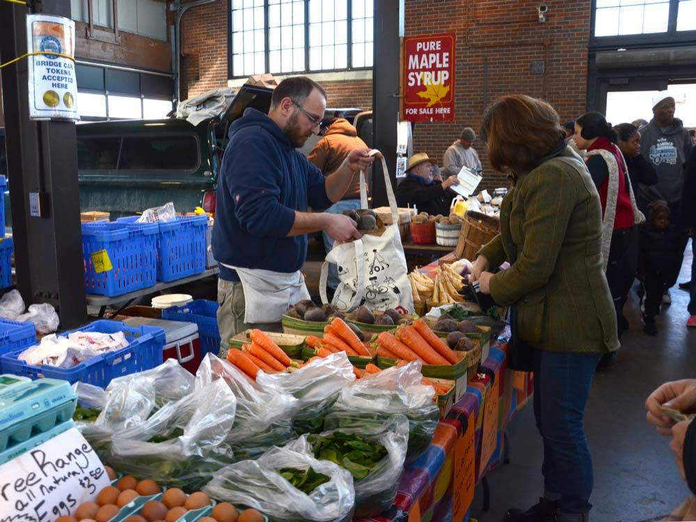 Eastern Market in Detroit