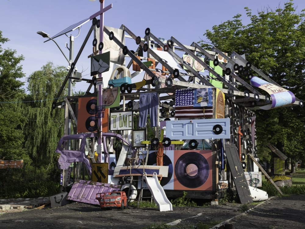 Heidelberg Project in Detroit