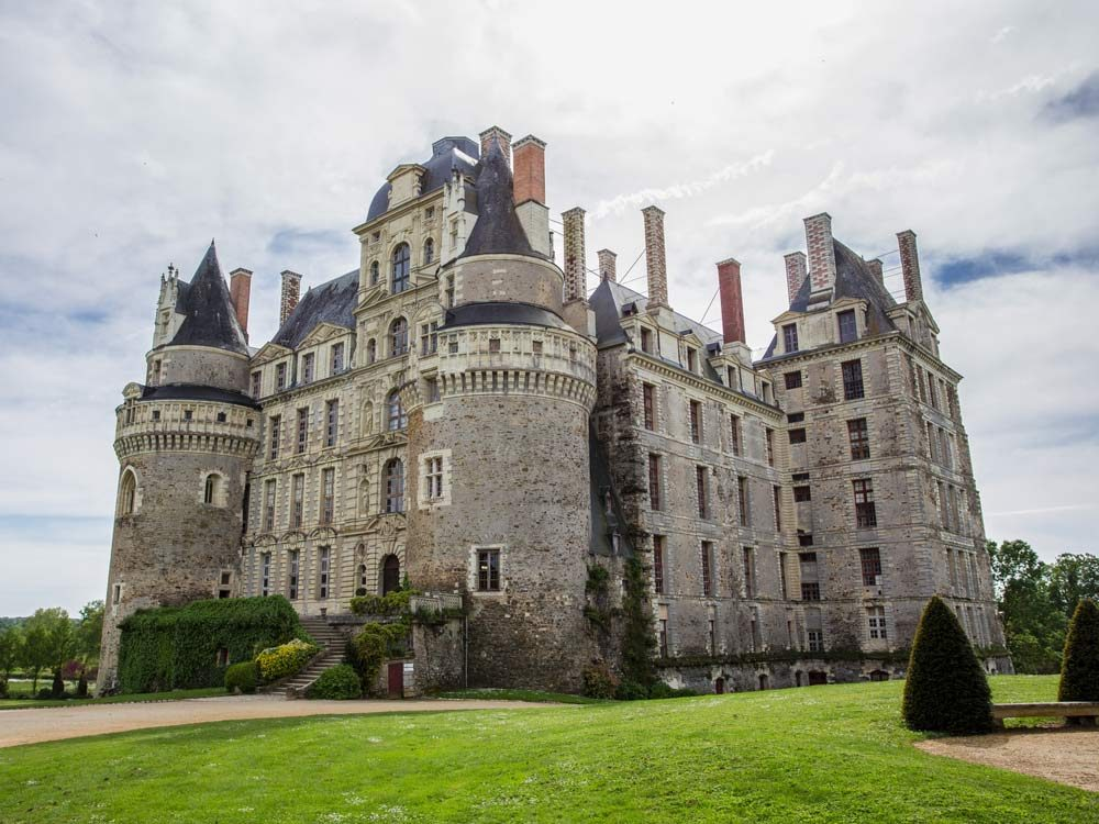 Chateau de Brissac in Loire Valley, France