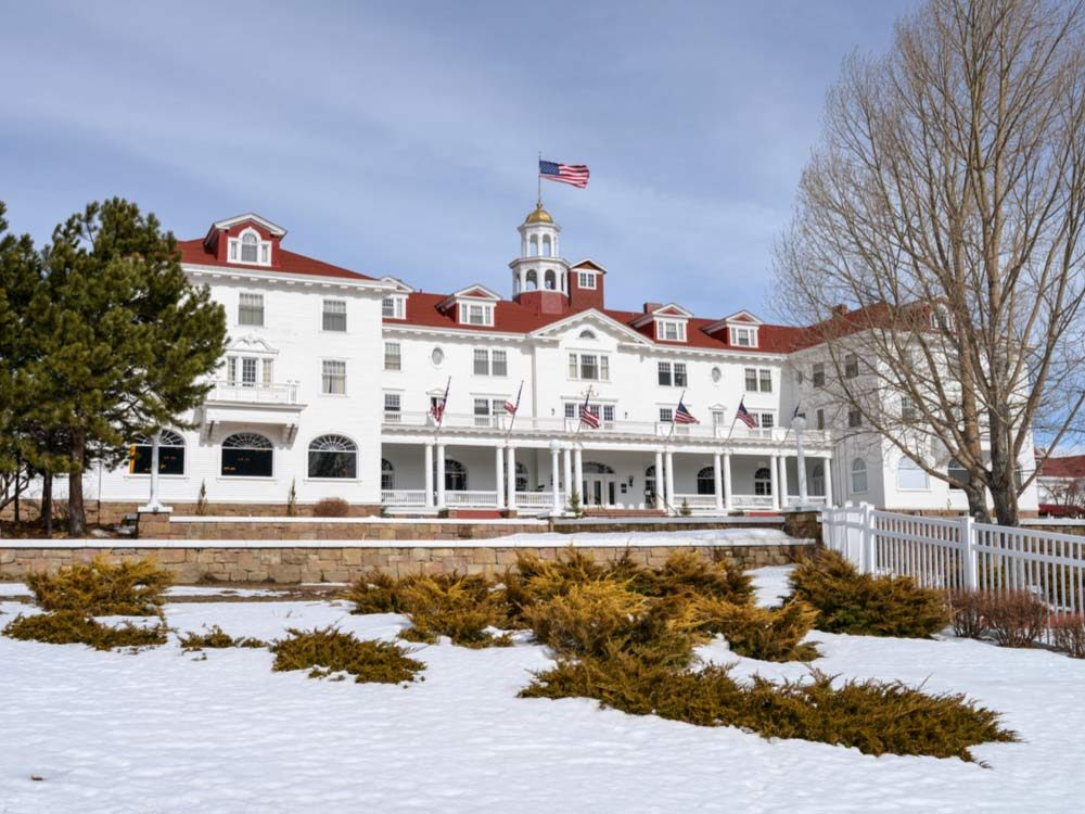 Stanley Park in Colorado, considered one of the most haunted places in the world