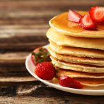 Cinnamon Strawberry Pancakes