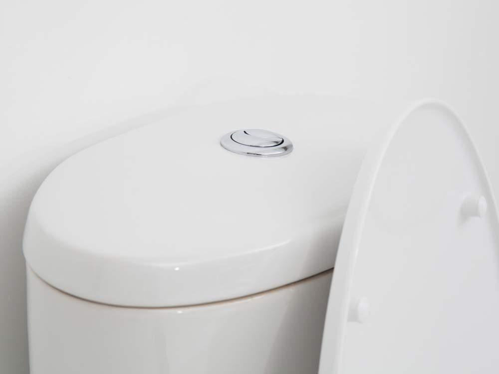 Use bubble wrap to prevent toilet-tank condensation