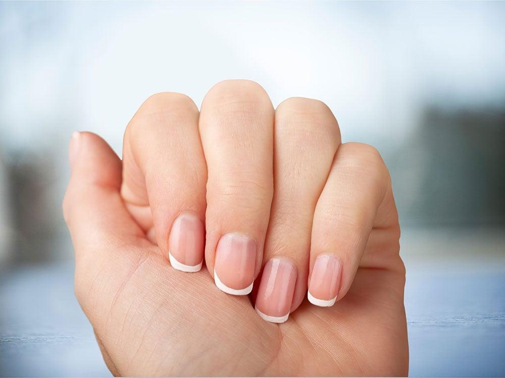 Use Mayonnaise - Close-up of female hands