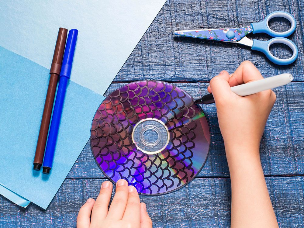 10 Things To Do With Old Cds