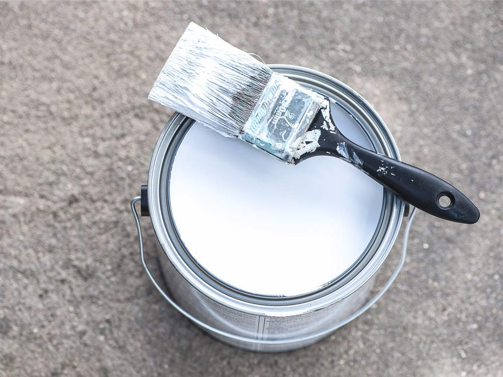 White house paint
