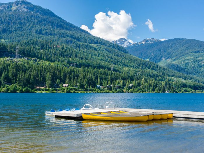 Alta Lake in Whistler, BC