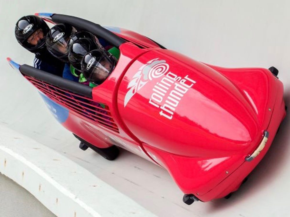 Bobsleigh in Whistler