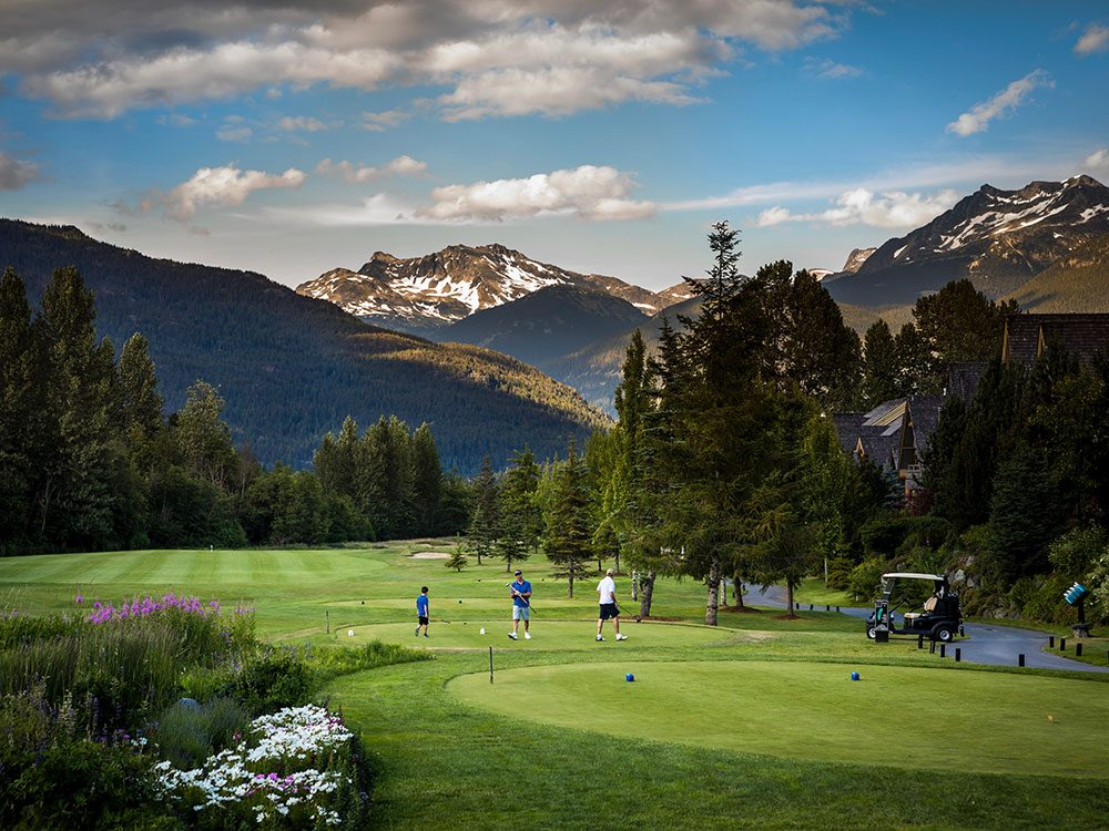 Jack Nicklaus Golf Course in Whistler, BC