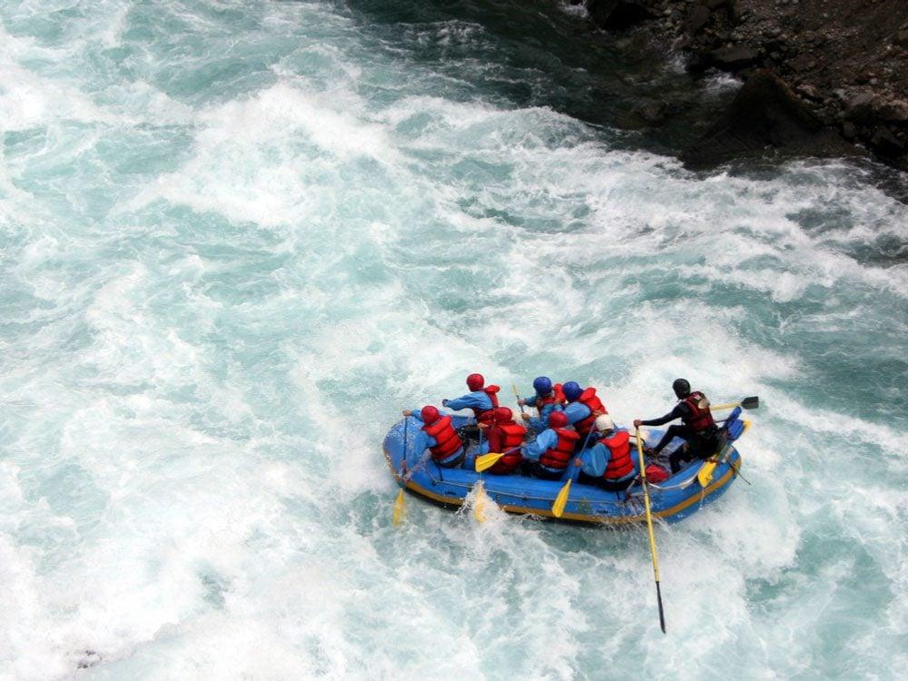 Rafting in British Columbia