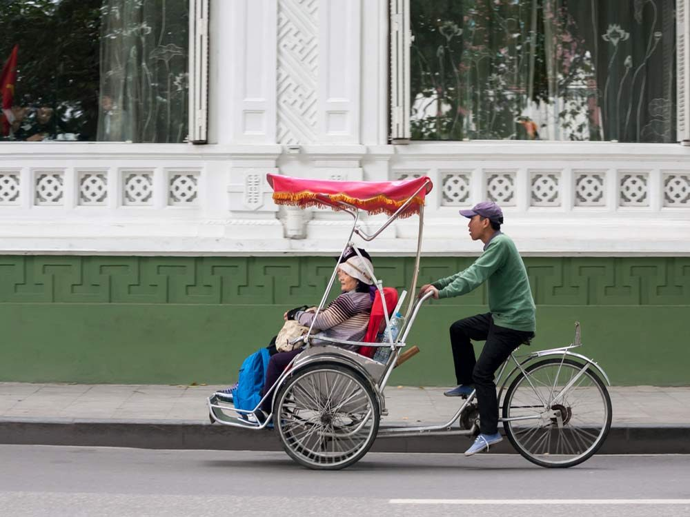 The Cyclo in Vietnam