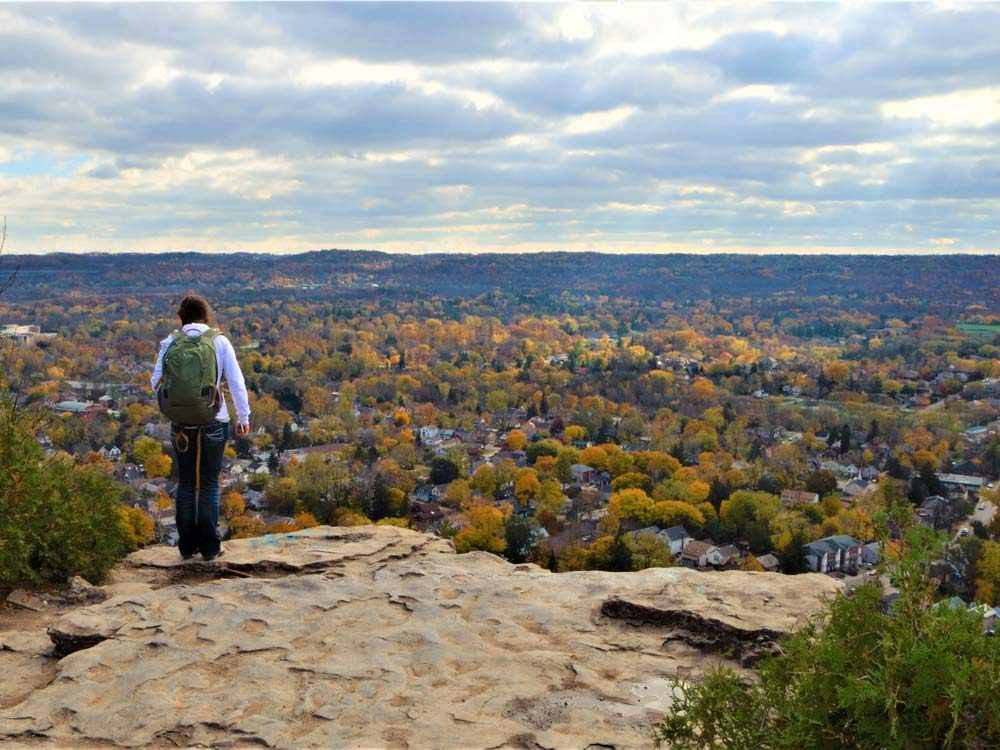 Dundas Peak in Ontario