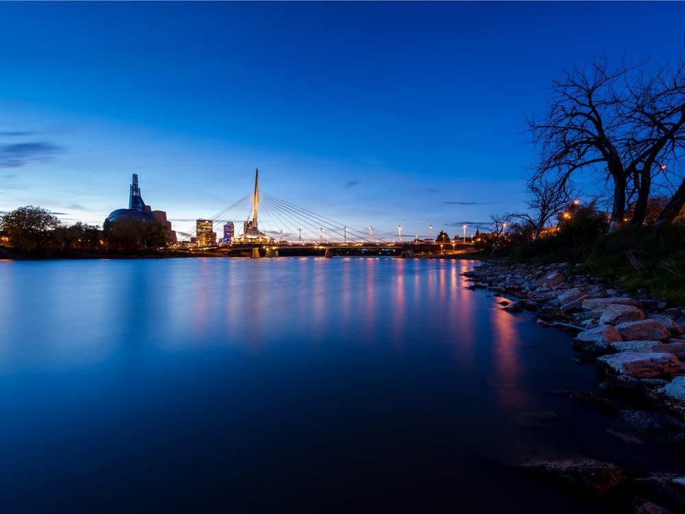 St. Boniface, Manitoba, near Winnipeg