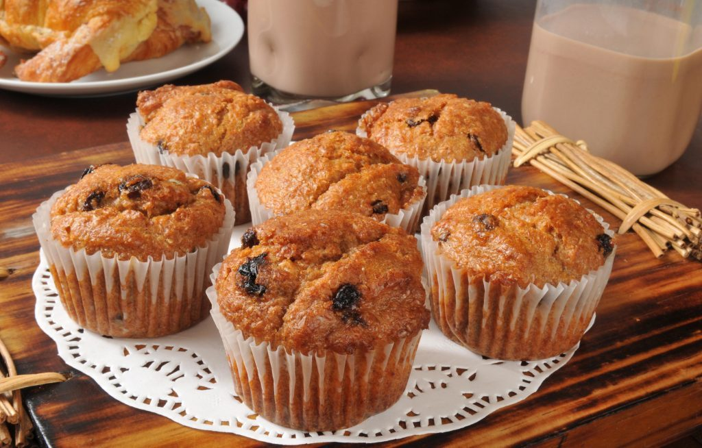 Raising breakfast muffins