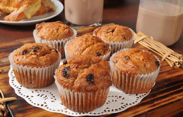 Raising breakfast muffins
