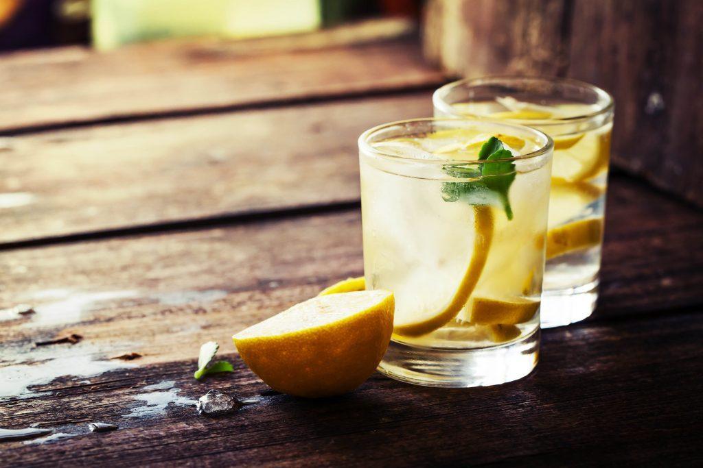 Lemonade glasses