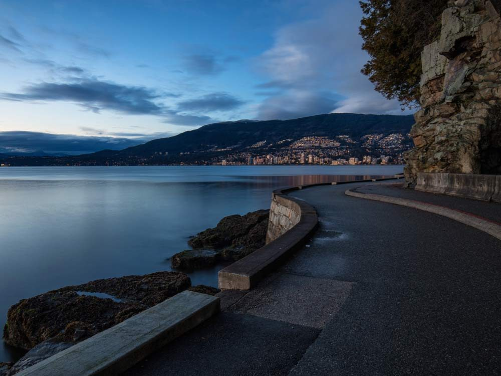 British Columbia seawall