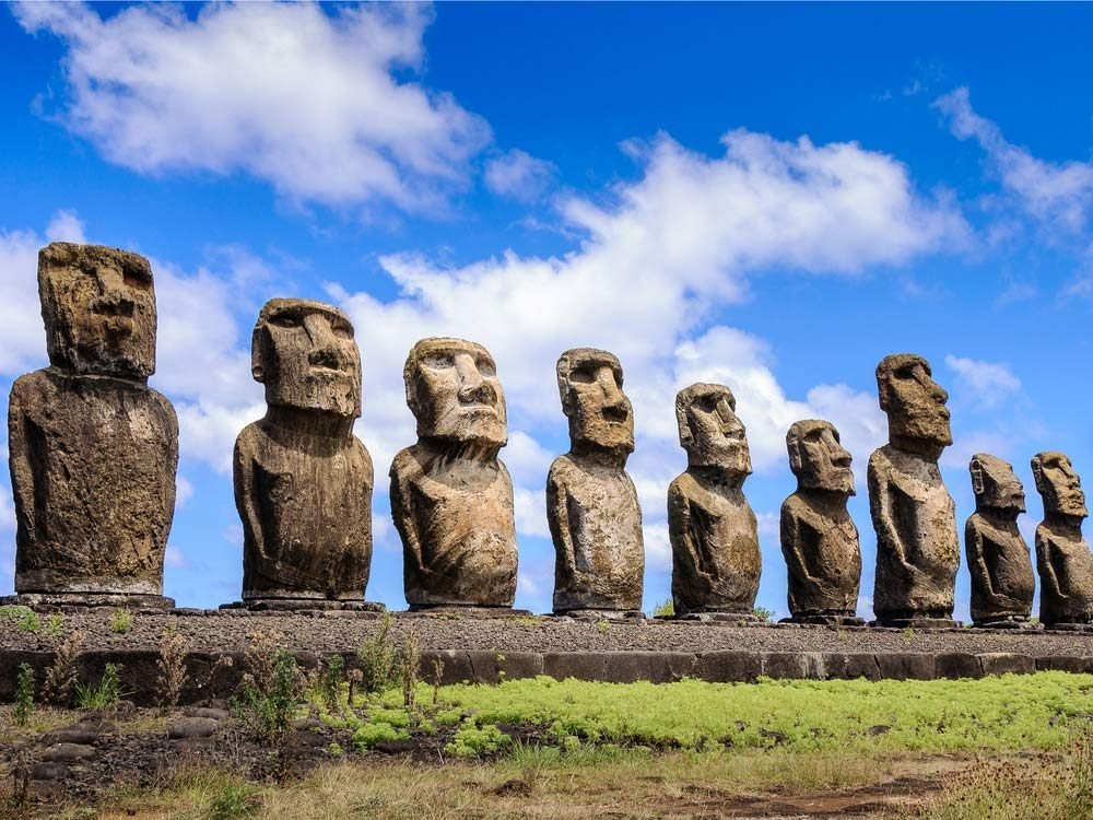 Easter Island is a UNESCO World Heritage Site