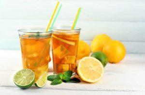 Sparkling Fruity Green Tea