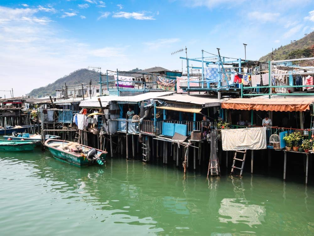 Tai O neighbourhood in Hong Kong