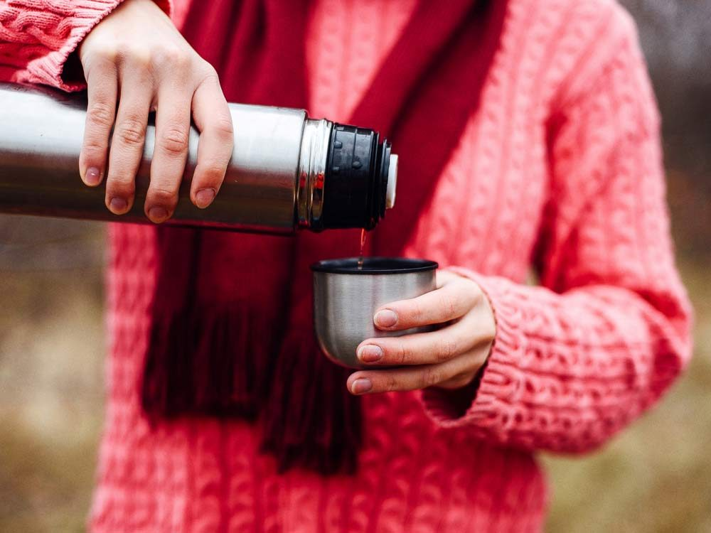 Use spices to keep your thermos fresh