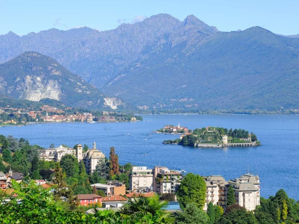 Northern Lake Maggiore in Italy