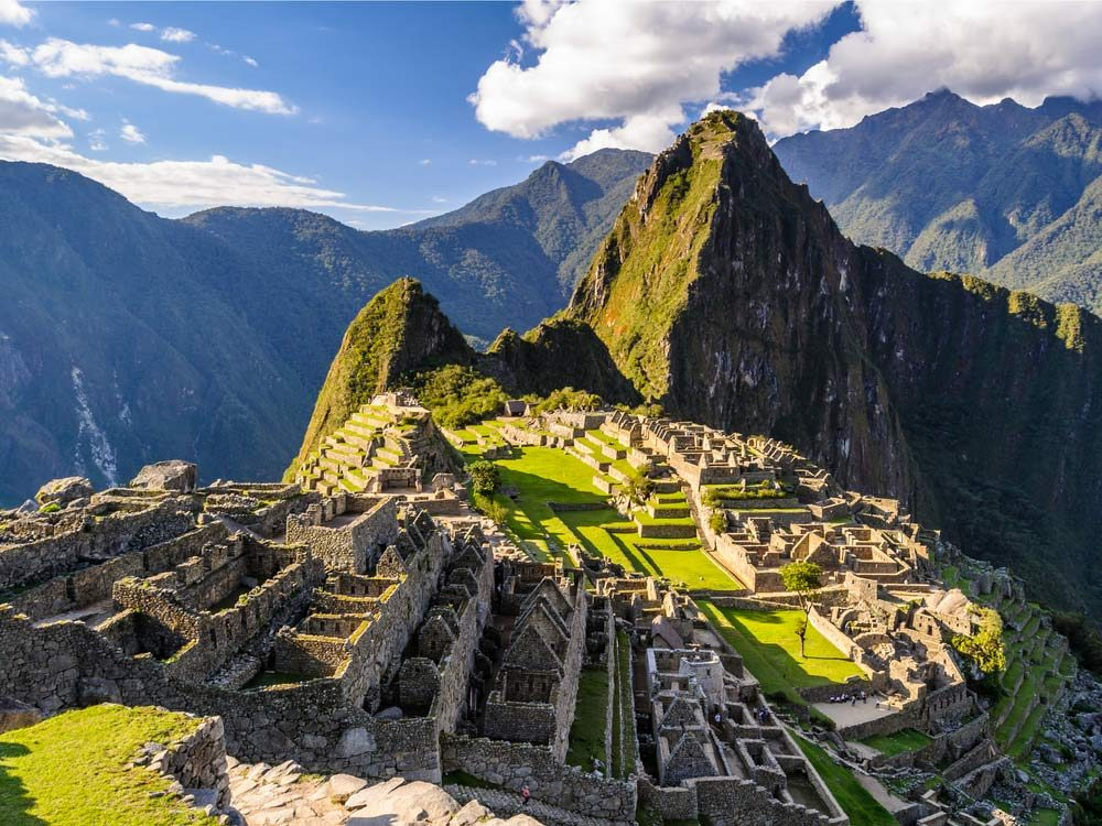 Macchi Picchu in Peru