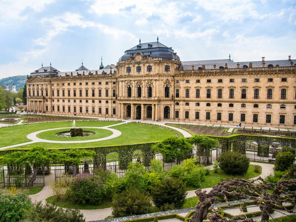 Wurzburg Residence in Germany