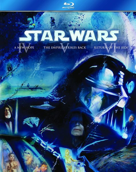 Blu ray cover of Star Wars Original Trilogy
