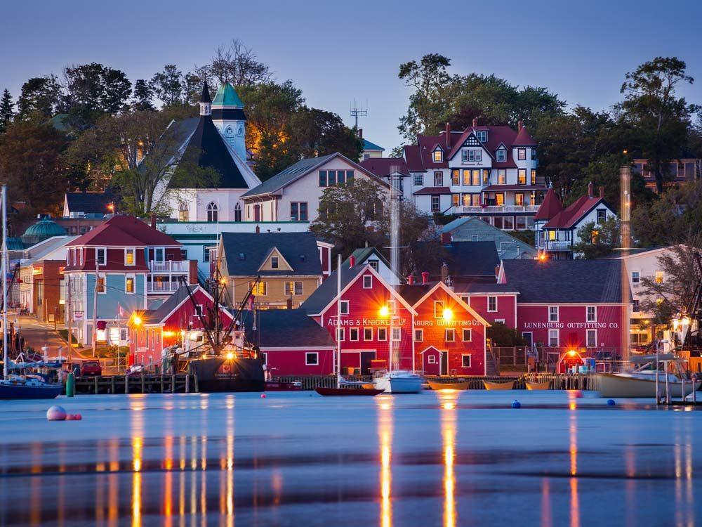 Harbour of Lunenberg, Nova Scotia