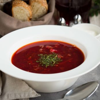 Russian Cabbage Borscht