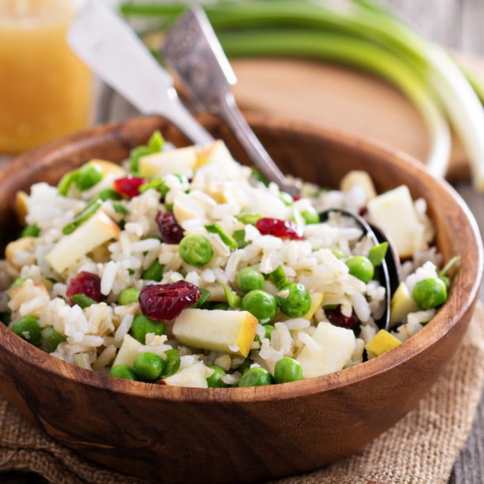 Wild Rice Apple Salad