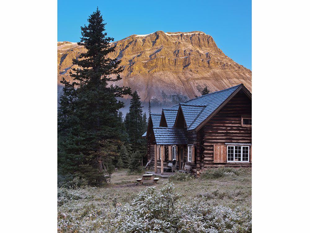 Banff Lake Louise back country lodge