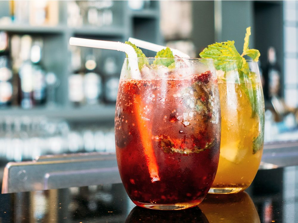Fruit-based cocktails