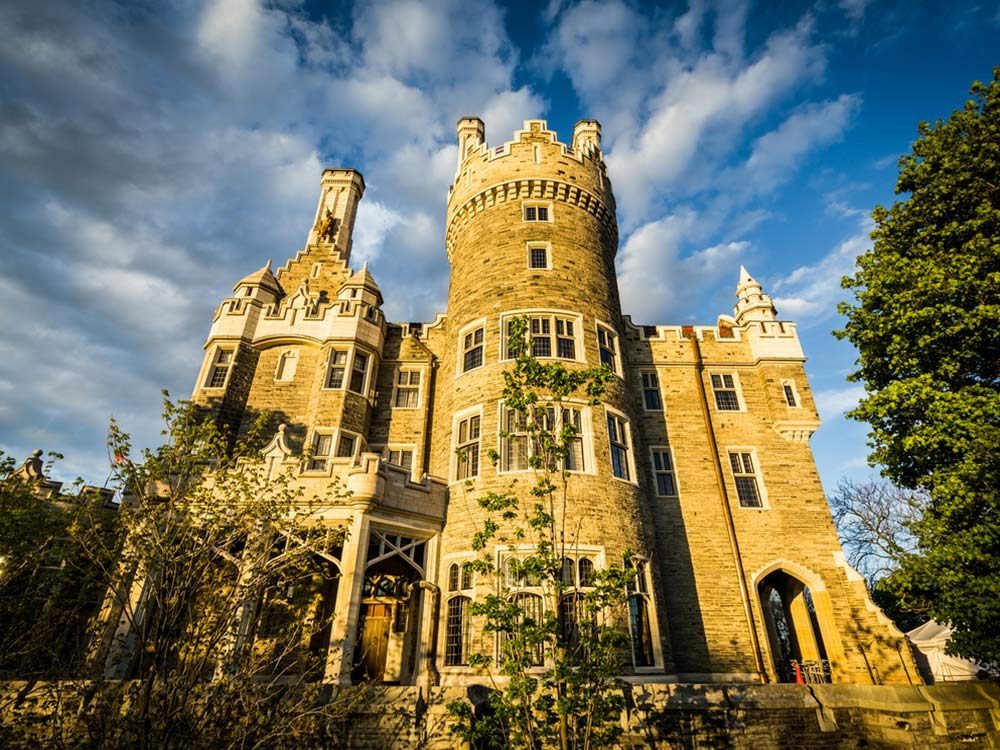 Casa Loma in midtown Toronto
