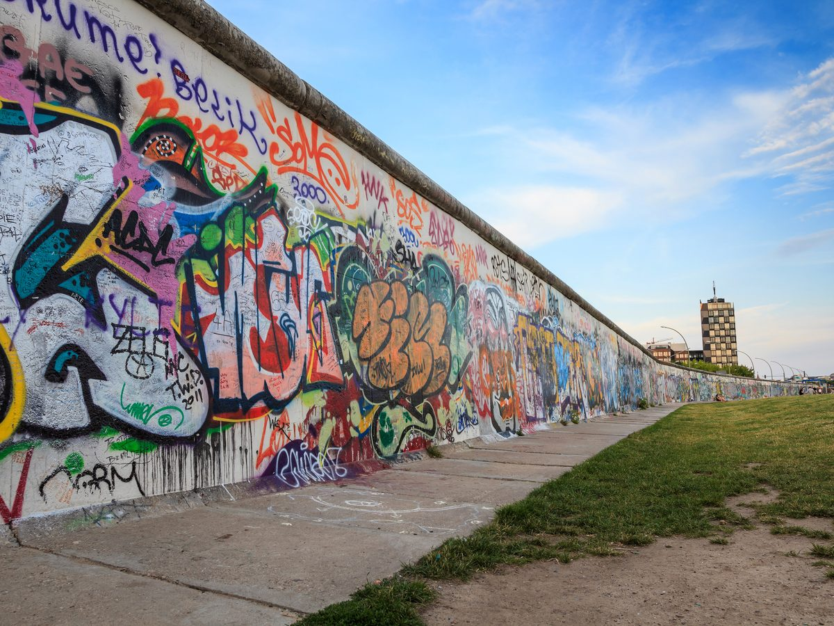 Berlin Wall in 2013