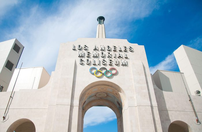 Olympic area in Los Angeles