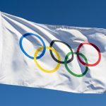 Olympic flag for infamous Olympic scandals countdown