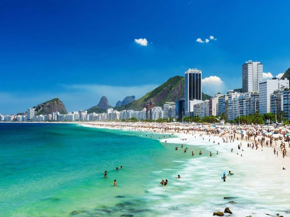 Brazil's Copacabana is one of the sexiest beaches in the world