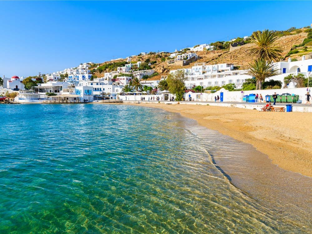 Paradise Beach, Mykonos Island, Greece